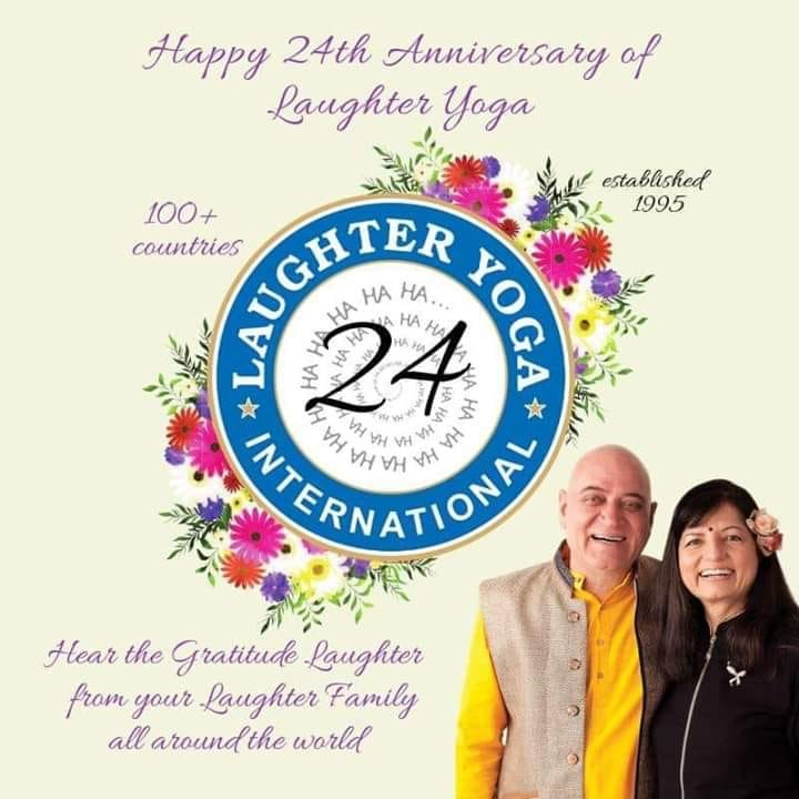 24th Anniversary of Laughter Yoga